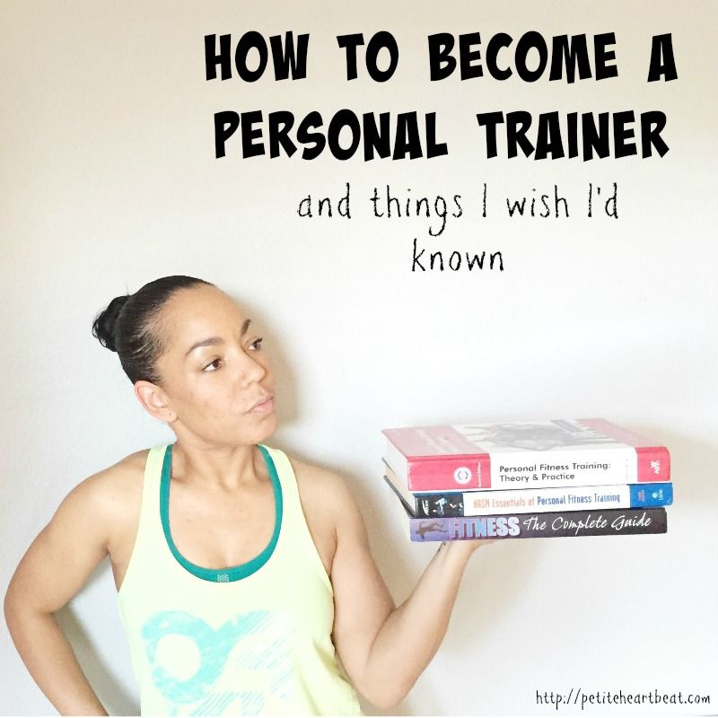 If you have dreams of one day becoming a Certified Personal Trainer ...