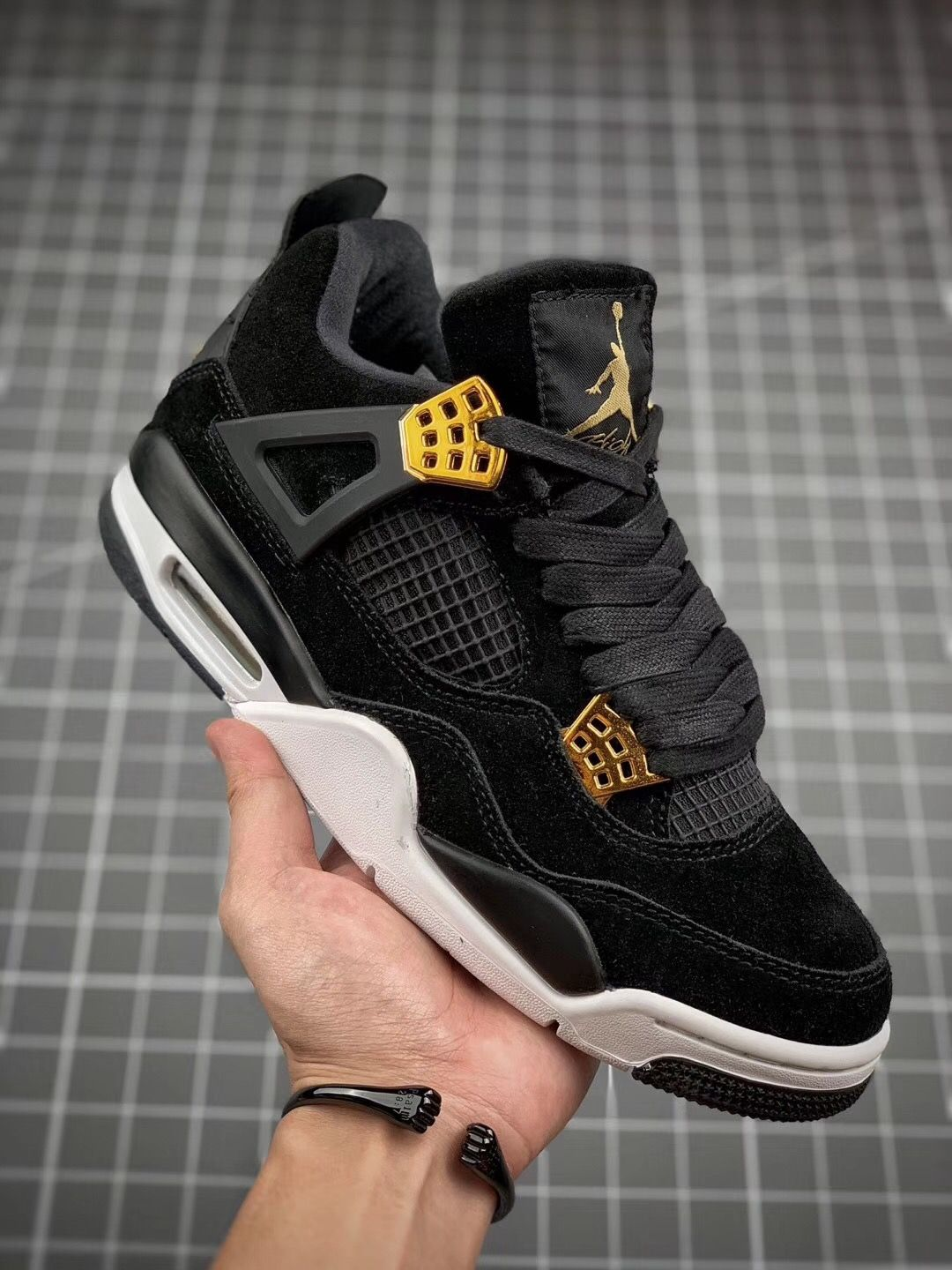 brand new 15946 6ee73 Air Jordan 4 RETRO  ROYALTY  in 2019   Shoes   Air jordans, Shoes, Air  jordan 4 royalty
