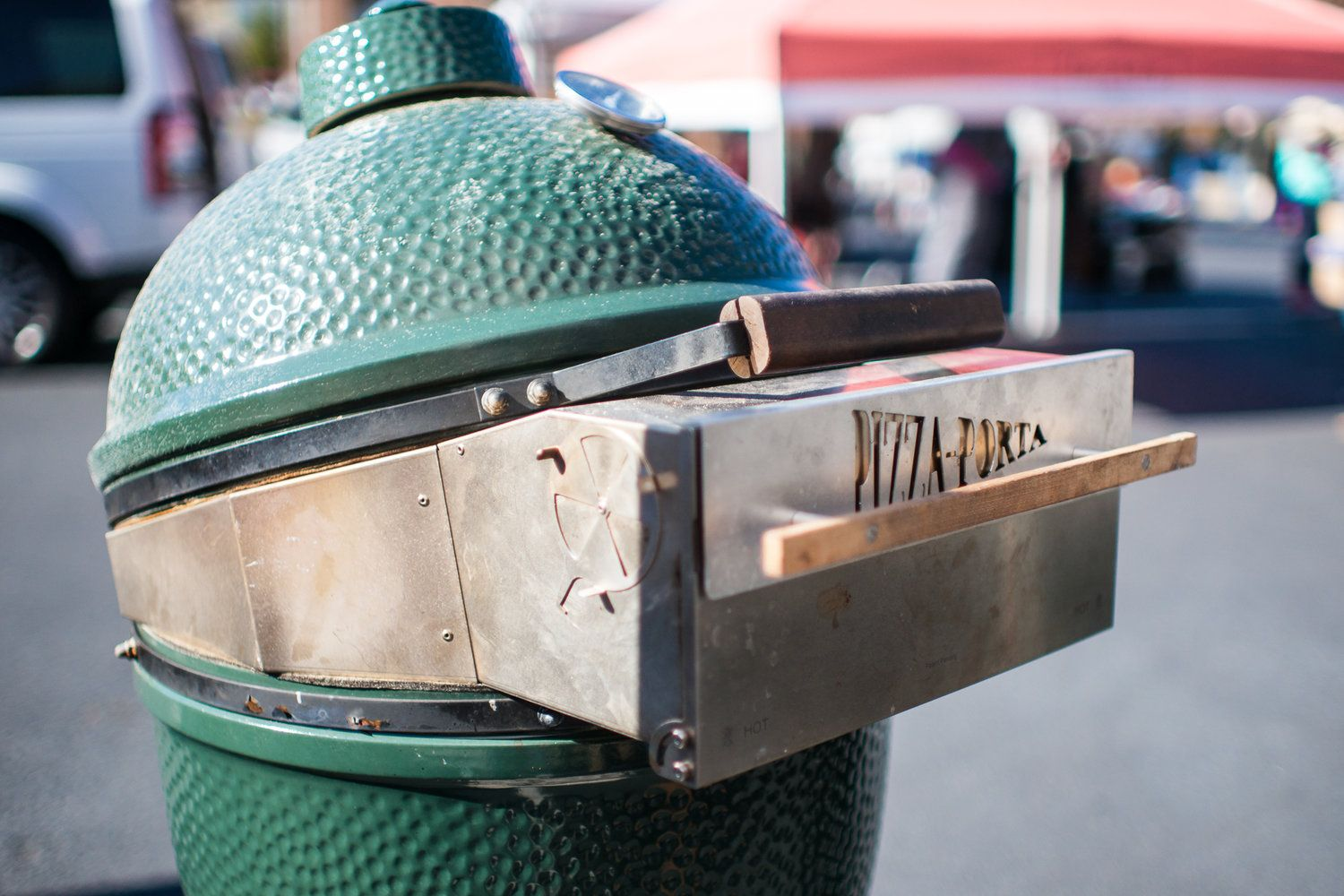 Large Big Green Egg PizzaPorta The original (With