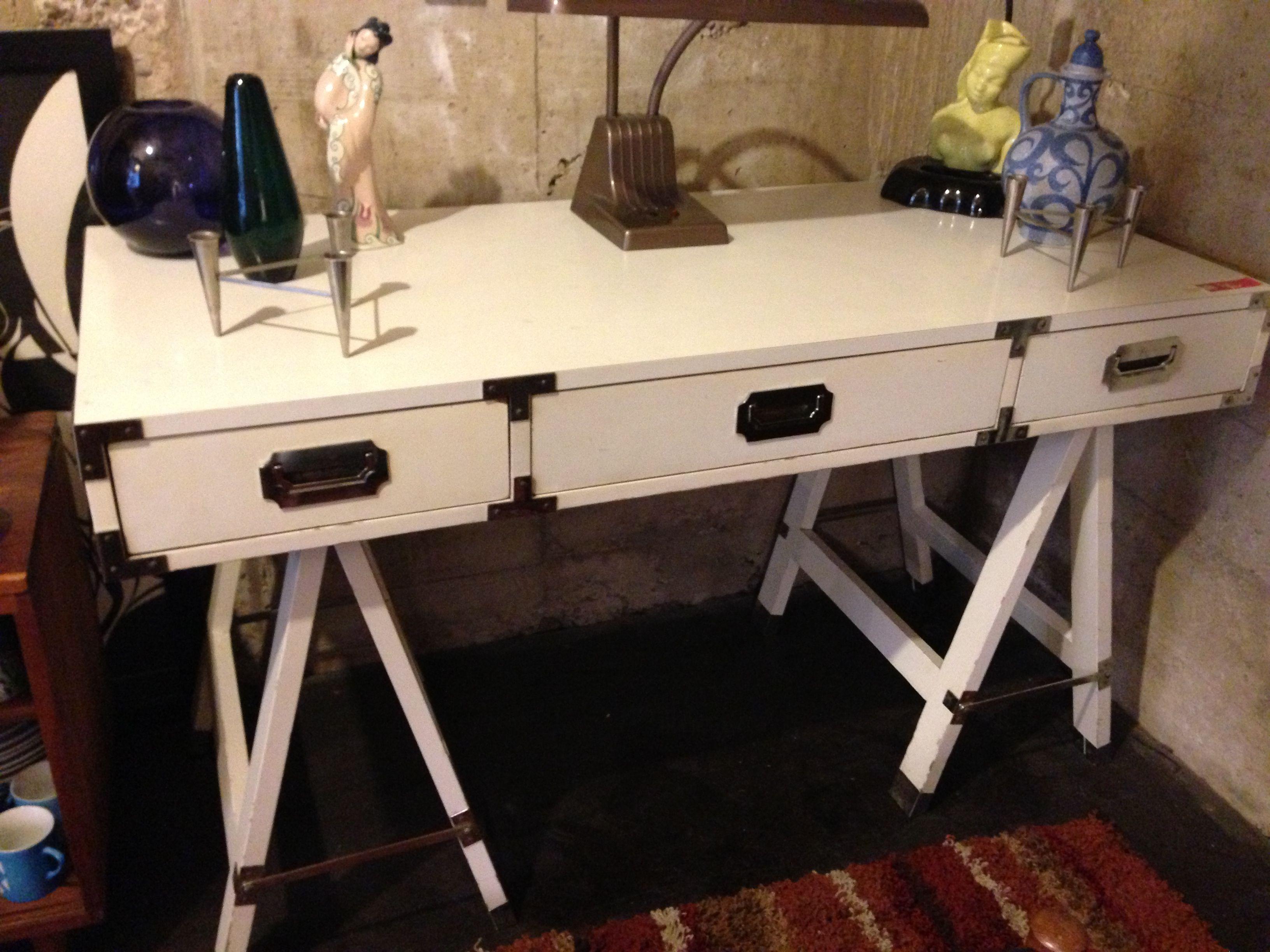 50's desk from Atomic San Diego 50s desk, Desk, Office