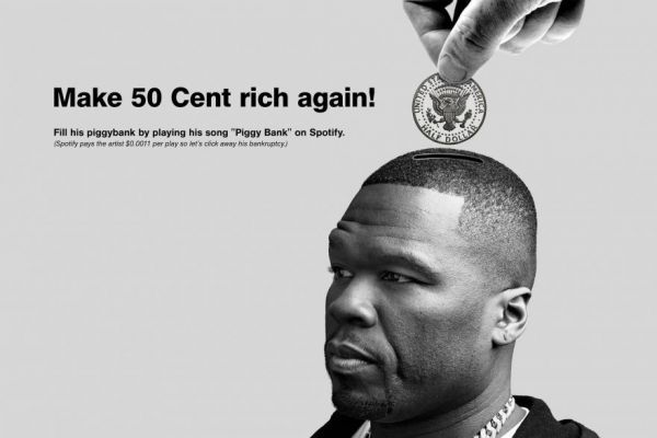 A Tumblr Created To Help 50 Cent Recover From Bankruptcy - Neatorama