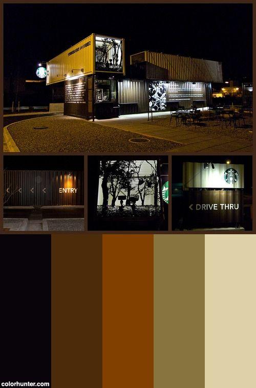Starbucks Color Scheme. Interior Paint ColorsLiving Room ColorsWall ColorsCoffee  ShopColor ...