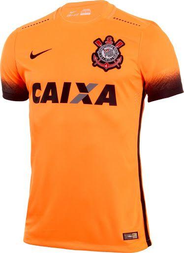 b9da32e86 Corinthians Paulista 2015 16 Nike Third Shirt
