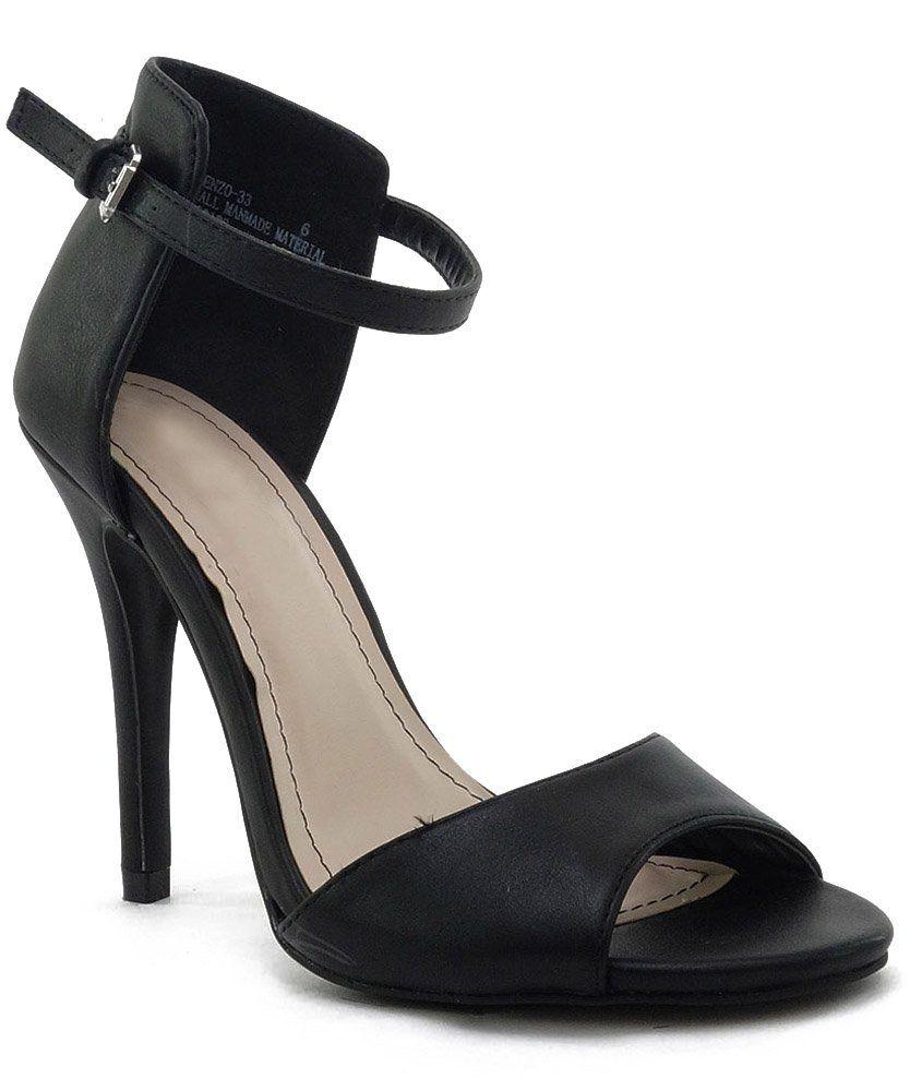 a940801cb52 Stick Simple Buckle Mary Jane Dress Sandal Pump Stiletto Women Shoe ...