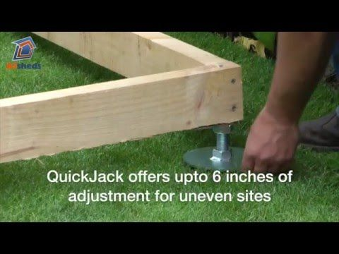 How To Build A Shed How To Prepare A Gravel Pad For A
