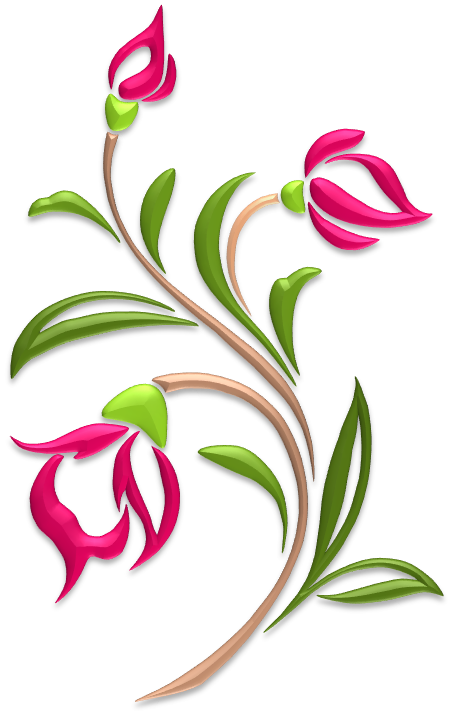 Flowers Illustrations Art Islamic Graphics Flower