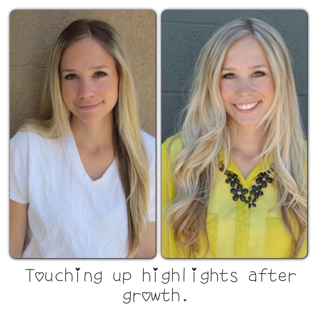 Tutorial for touching up highlights at home, includes links to the ...