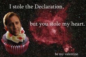 Nicholas Cage Valentine Day Card Valentine Day Cards Pinterest