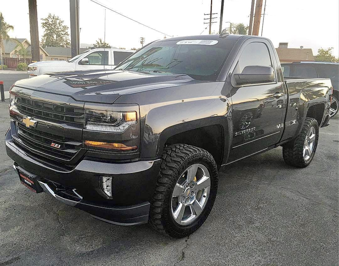 Silverado 1996 chevy silverado accessories : 2016 z71 on mud terrain tires looking sick!! | New Gen | Pinterest ...