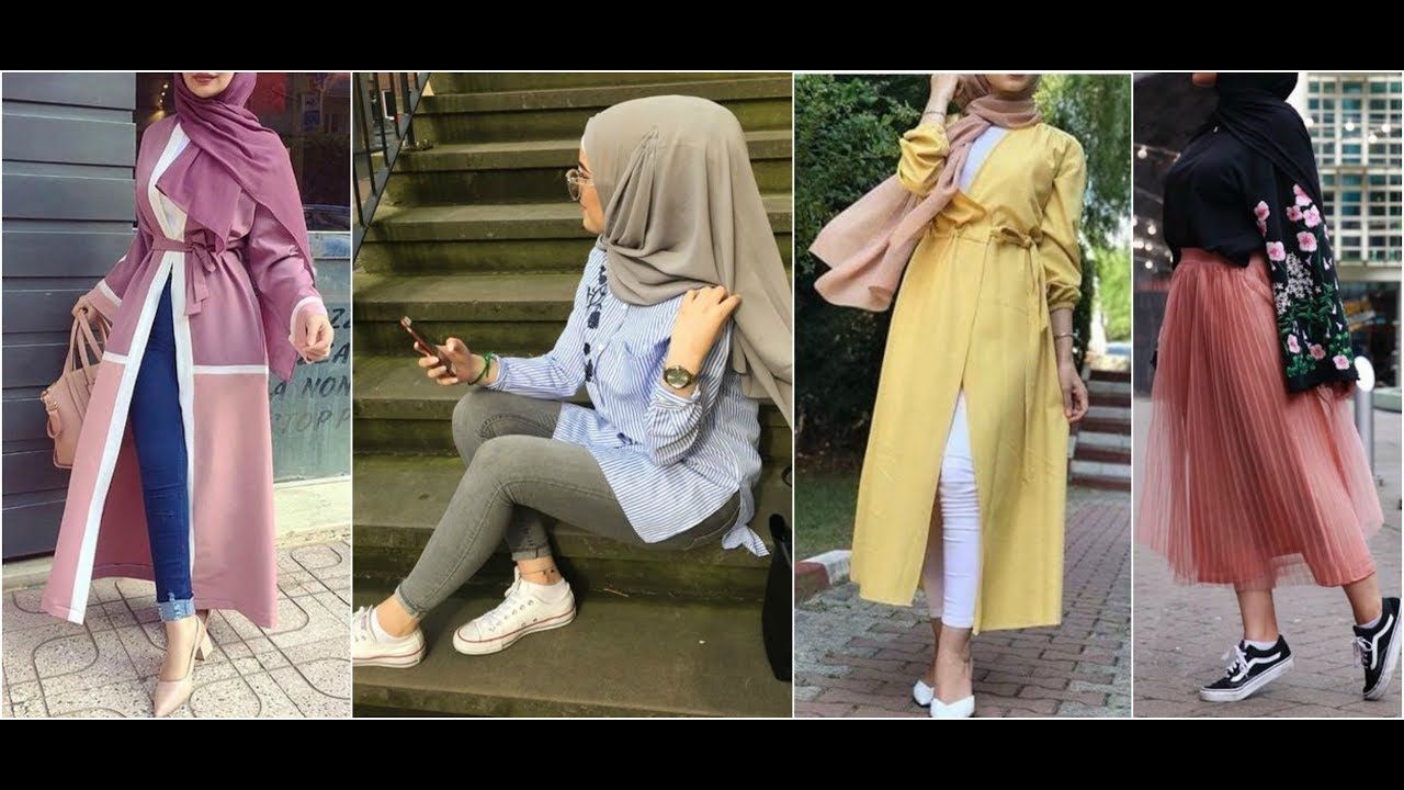 a1c5a2447 New Beautiful lookbook Hijab 2019 / ملابس محجبات كاجوال | Fashion ...