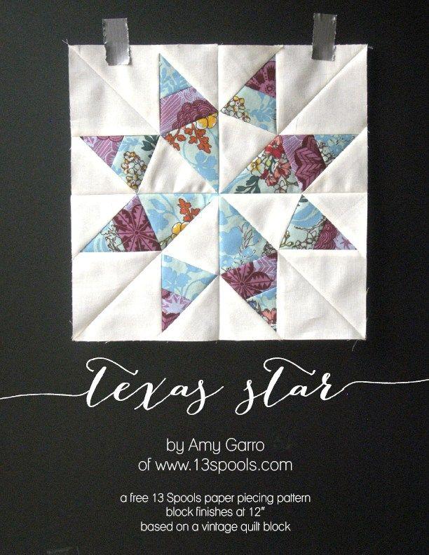 texas star block   Quilts   Pinterest