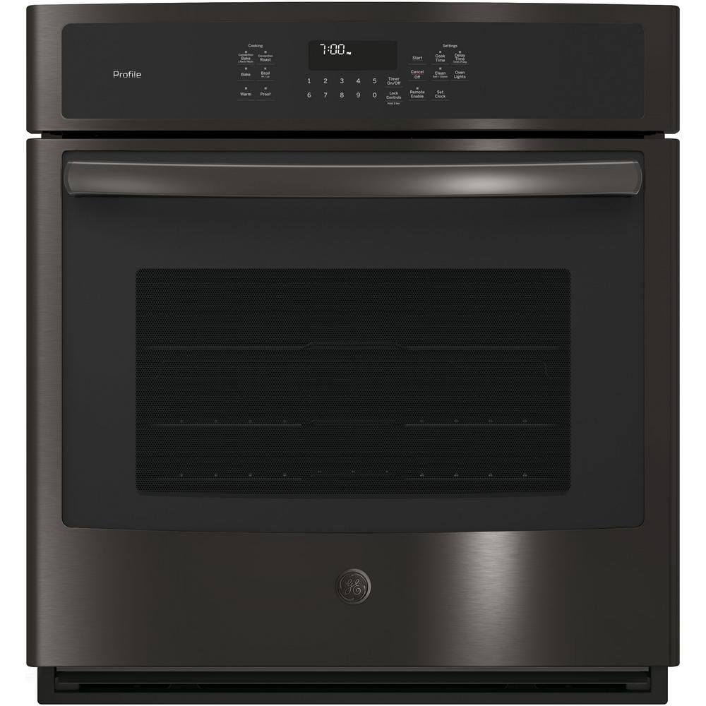 Ge Profile 27 In Single Electric Smart Wall Oven With Convection