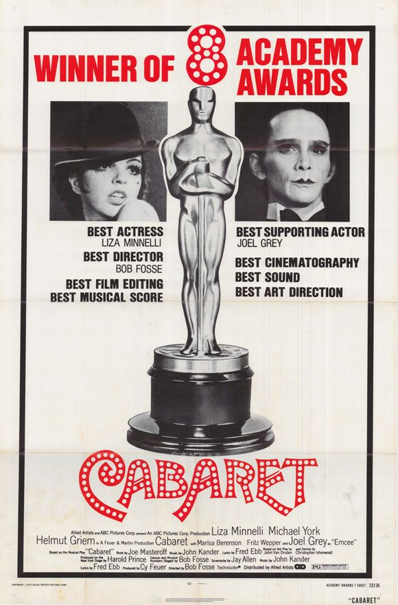 Liza Minnelli Joel Grey Cabaret 1972 Filmes I Love Cinema E