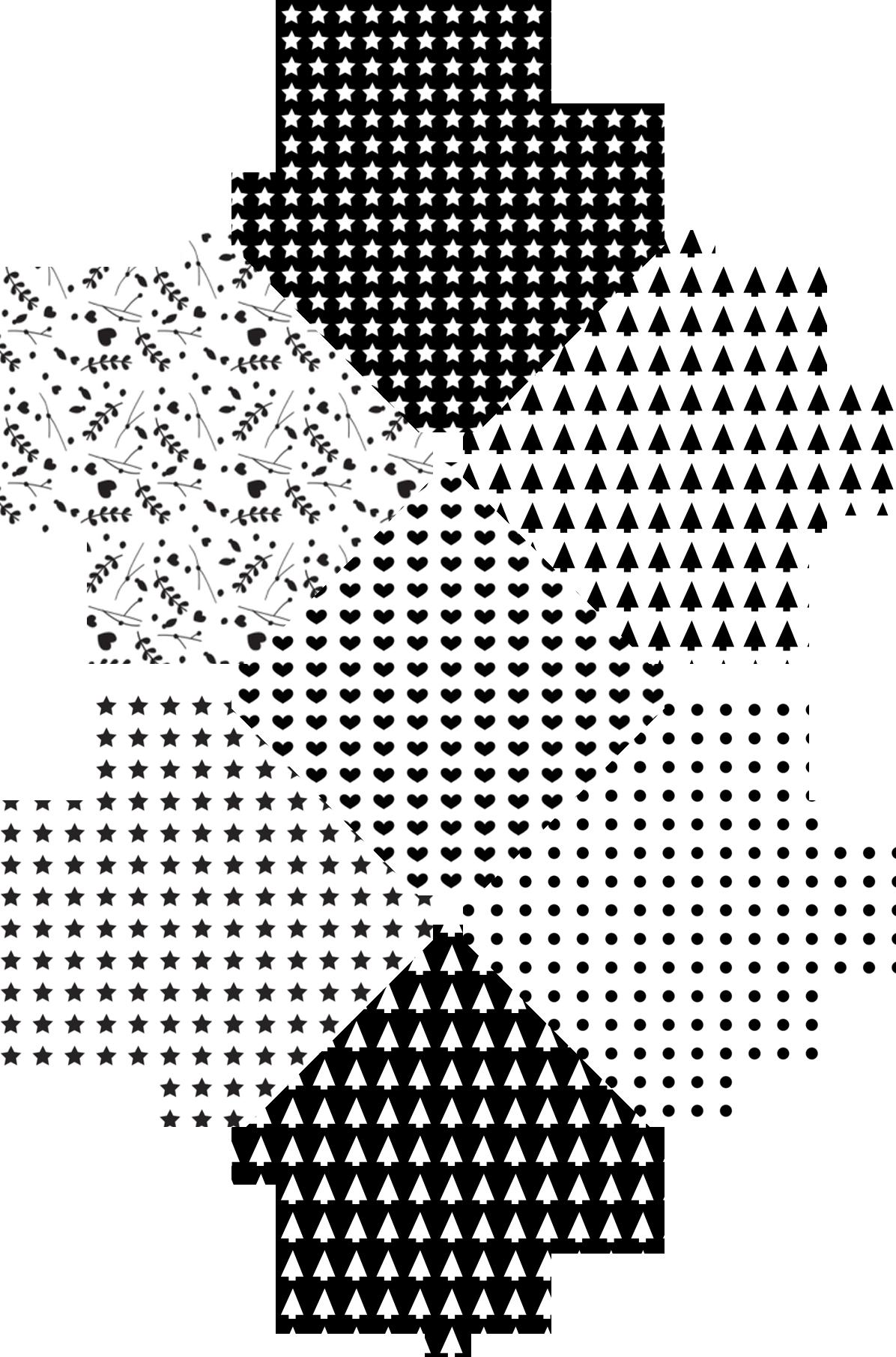 Motifs graphiques de no l imprimer patterns xmas and - Motif de noel a imprimer ...