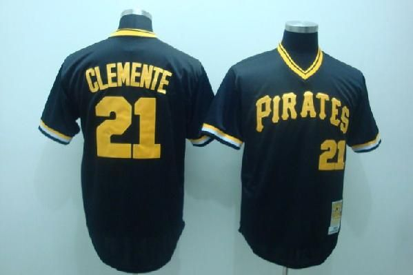 195f07d7533 low cost black roberto clemente authentic jersey majestic 21 pittsburgh  pirates throwback mens mlb flexbase cooperstown 89b52 5bcfb