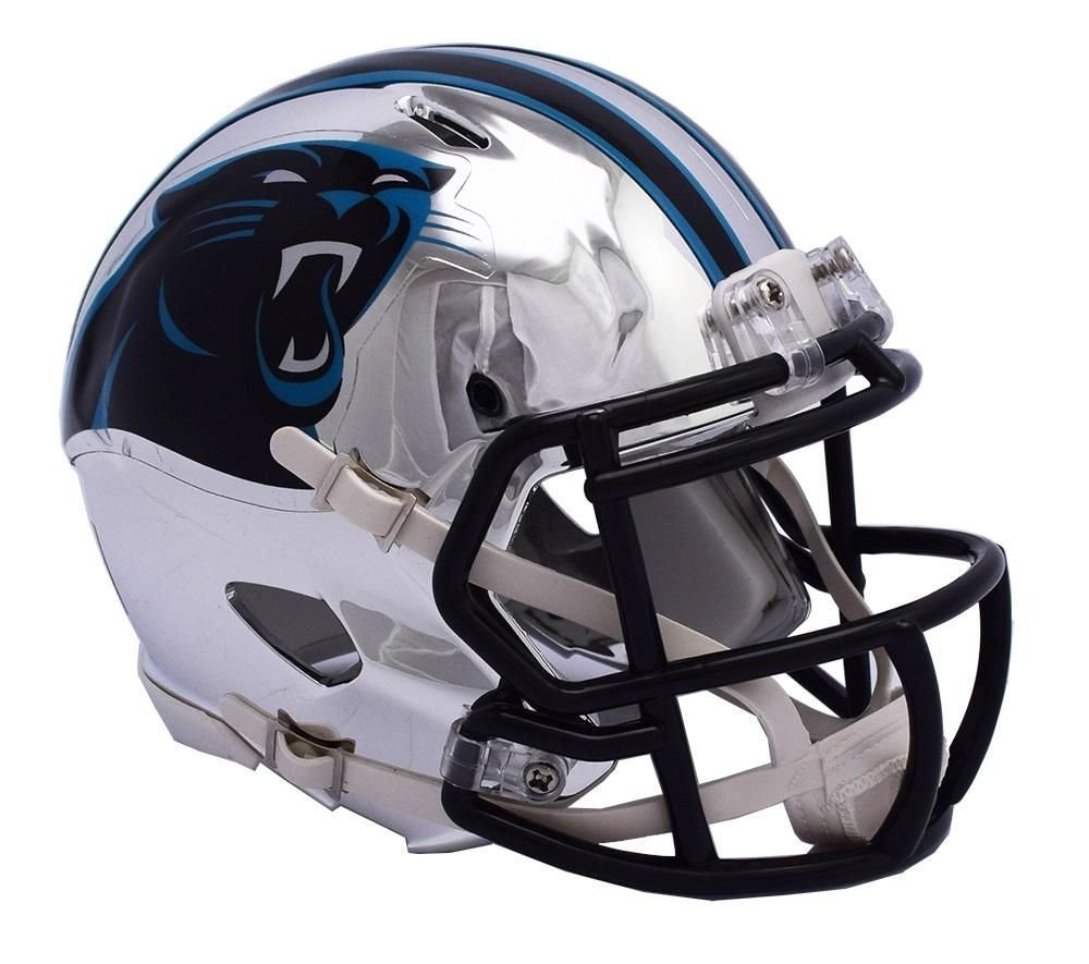 new style 1ff10 088b3 Carolina Panthers Helmet Riddell Replica Mini Speed Style ...