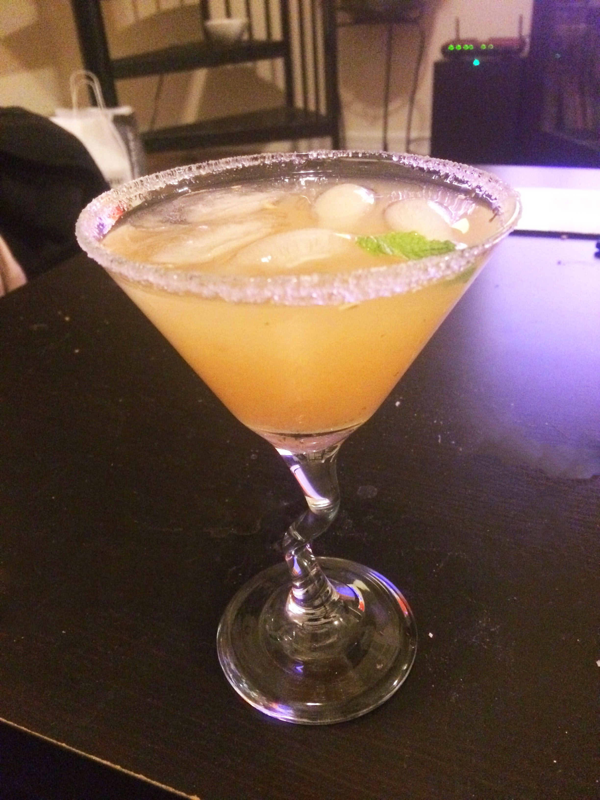 #fancydrinkfriday The Pepper Blossom