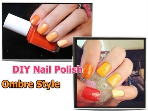 How To Make Your Own Nail Polish Ombre Style and Jewelmint Giveaway