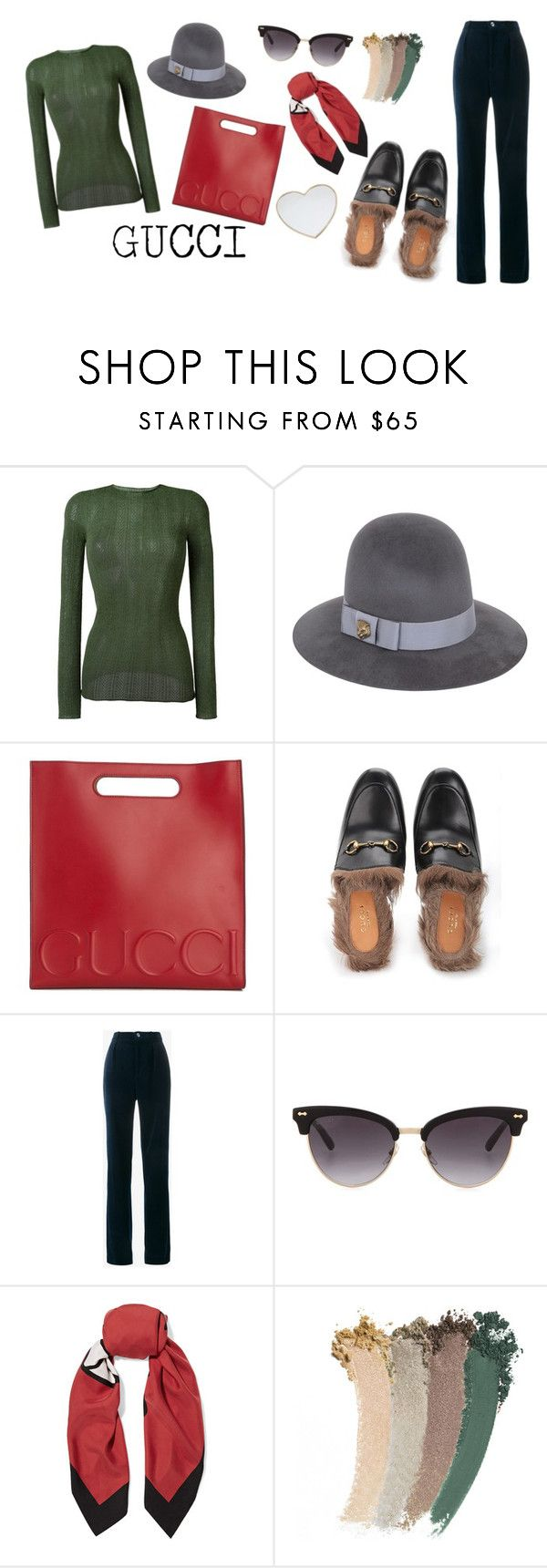 """""""G"""" by lxxvii ❤ liked on Polyvore featuring Gucci"""