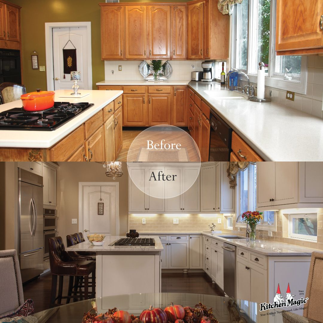 Kitchen Transformation Before And After: Before And After Kitchen Transformation