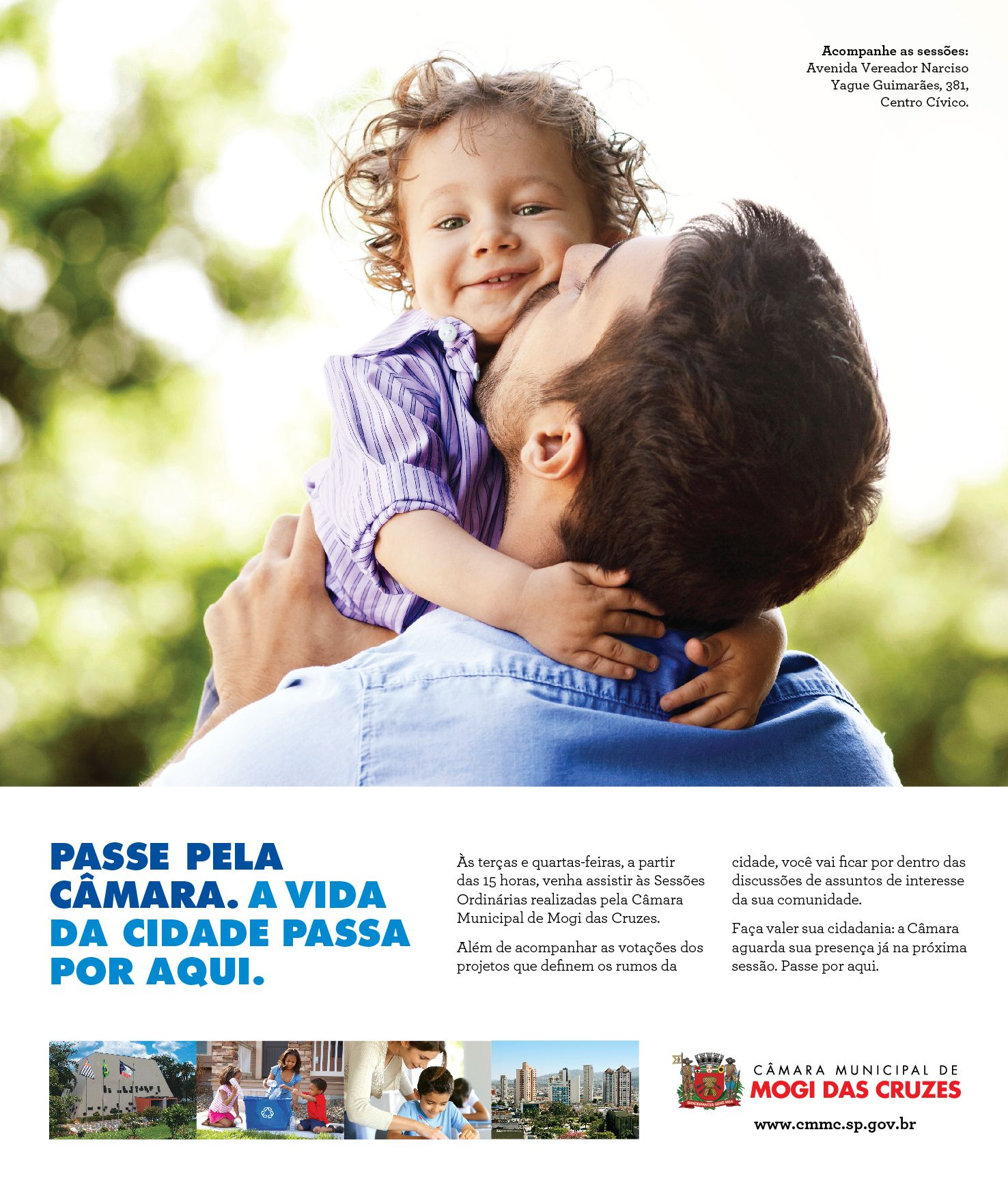 Anuncio Camara De Mogi Das Cruzes Anuncios De Revistas Cidade