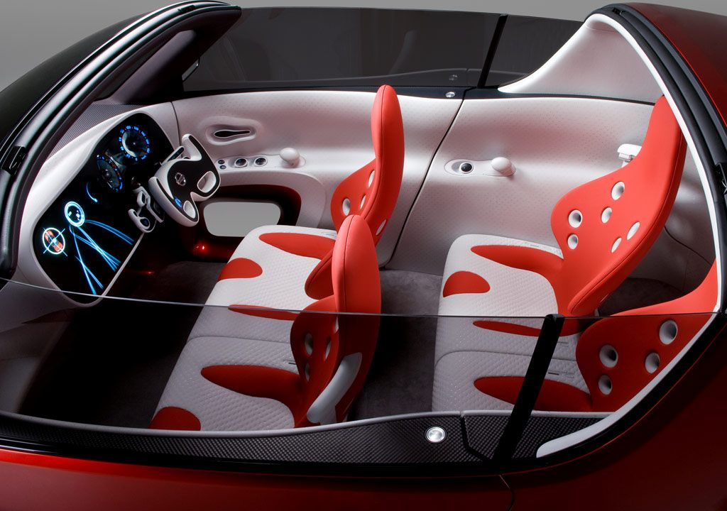 Nissan Round Box Concept. The compact convertible design