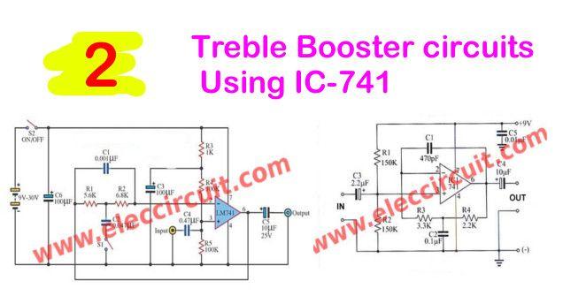 Cool Treble Booster Circuit Circuit Treble Booster Circuit Circuit Wiring 101 Cabaharperaodorg