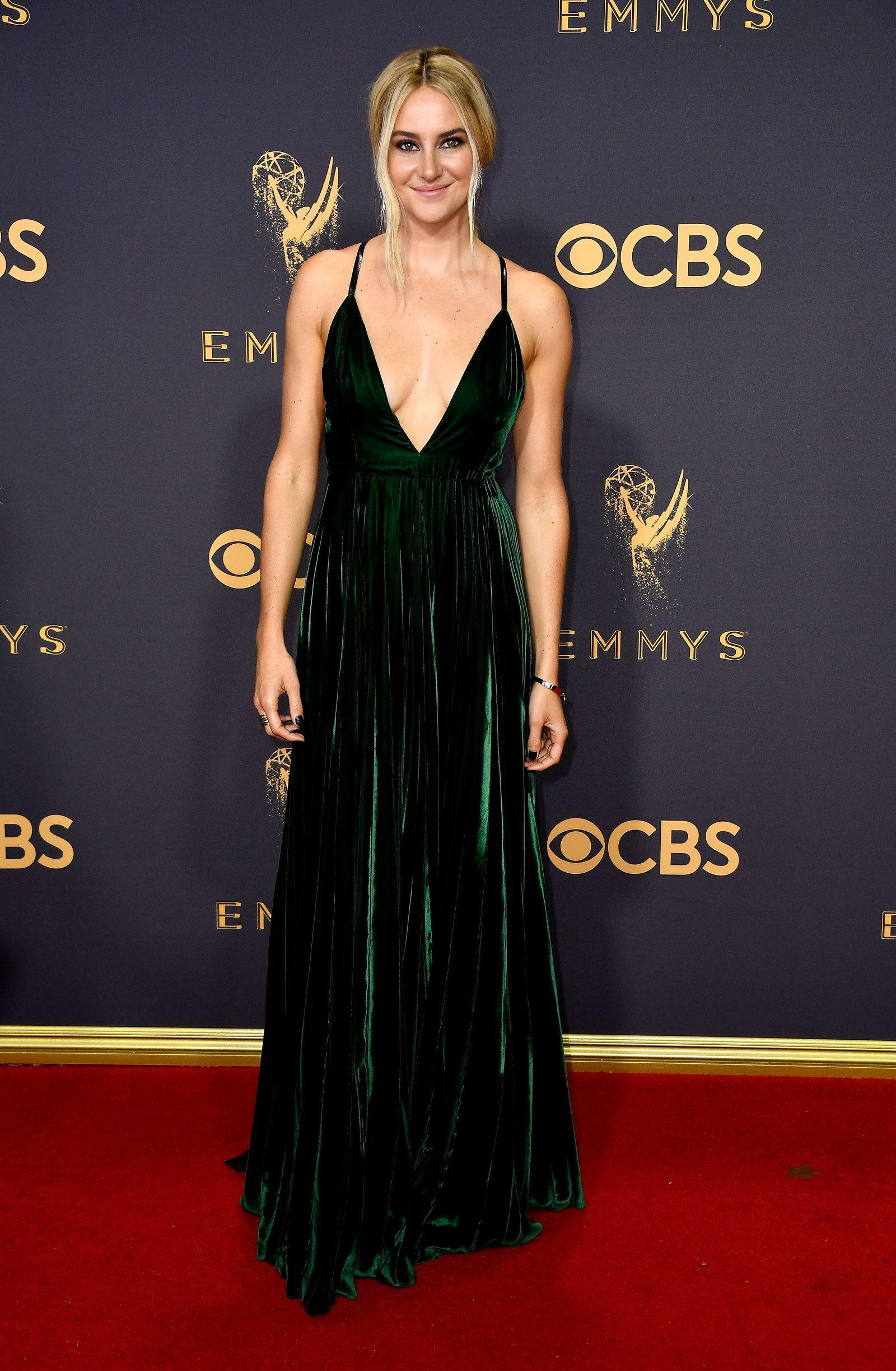 Fashion at the emmy awards big night red carpet and velvet gown