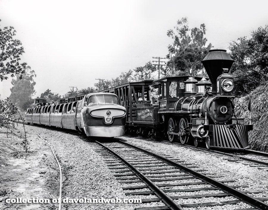 disneyland viewliner - Google Search   Walt disney history, Disney ...