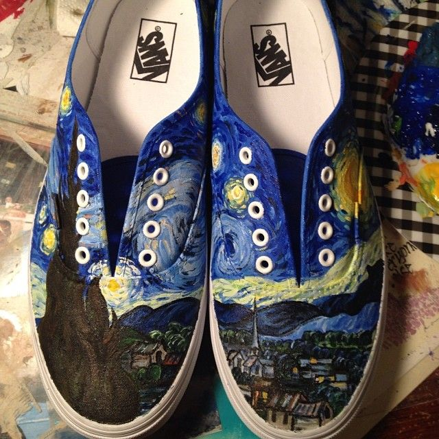 Painted From Vans Ever Van manesslb By The Twitter's Gogh HwqArSHxX
