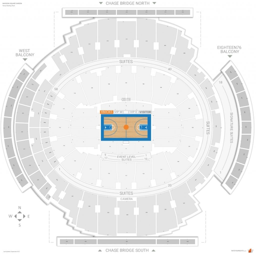New York Knicks Seating Chart Seating Charts New York Knicks Garden Suite