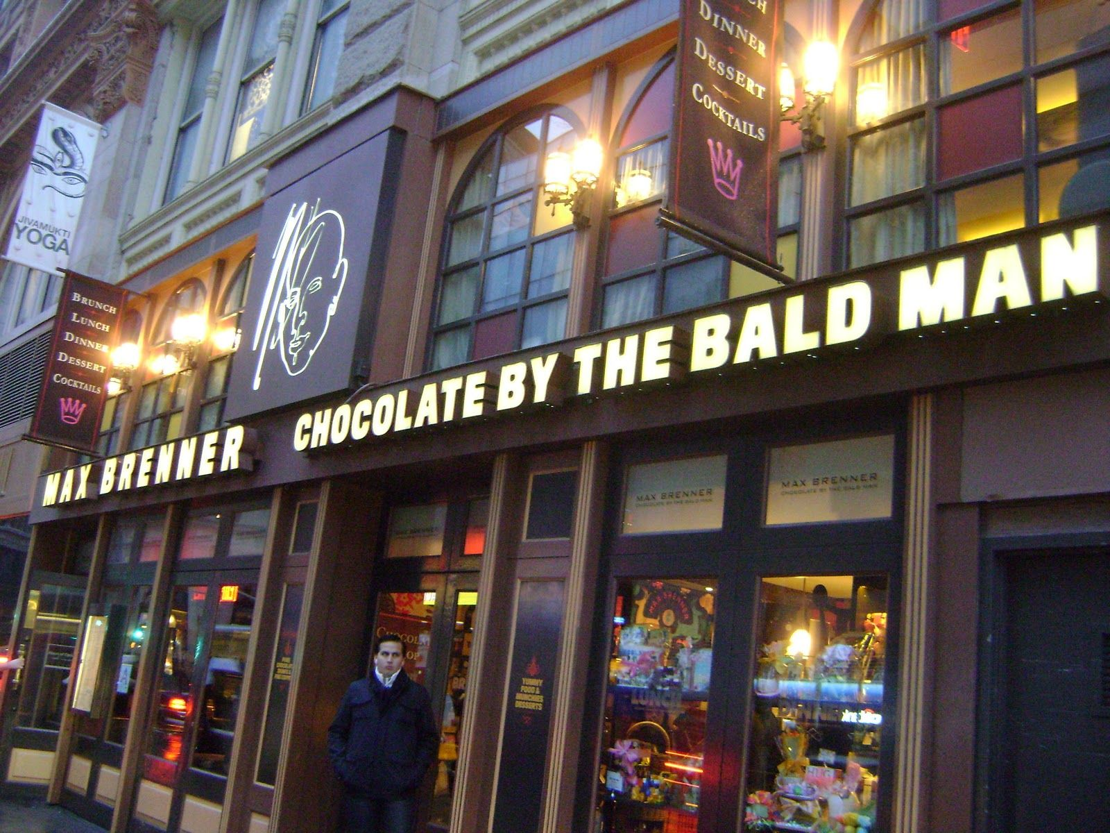 Chocolate by The Bald Man! I can't wait to go to this chocolate ...