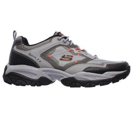 Skechers 0 gray Sparta Running Men's Trail Memory Foam Shoes 2 HqgZwnUH