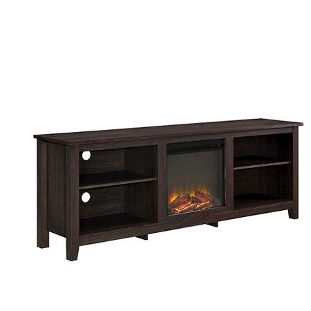 "TV Stand With Fireplace 70"" - Walker Edison : Target"