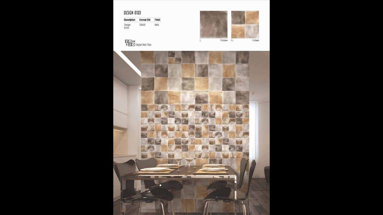 Millennium Tiles 200x200mm 8x8 Digital Ceramic Wall Tiles Series