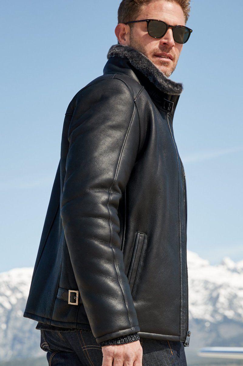 Lance Spanish Shearling Sheepskin Jacket in 2020