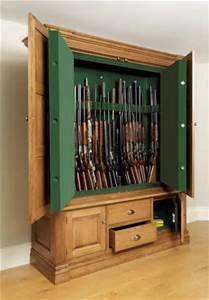 Hidden Gun Cabinet Plans Bing Images
