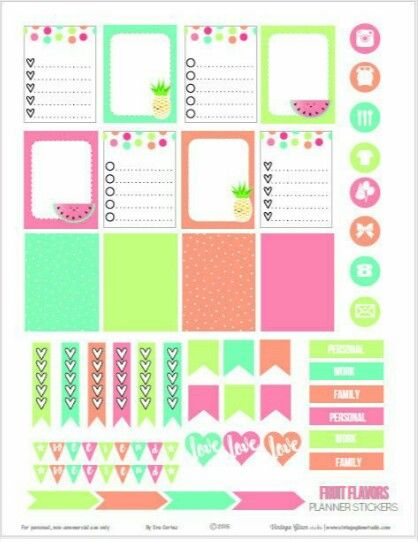 Love these planner stickers