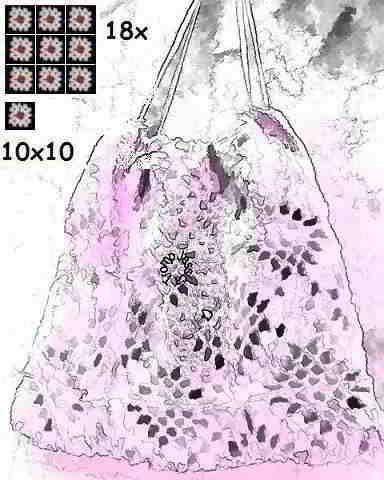 bag crochet tas haken j.jpg (384×480)