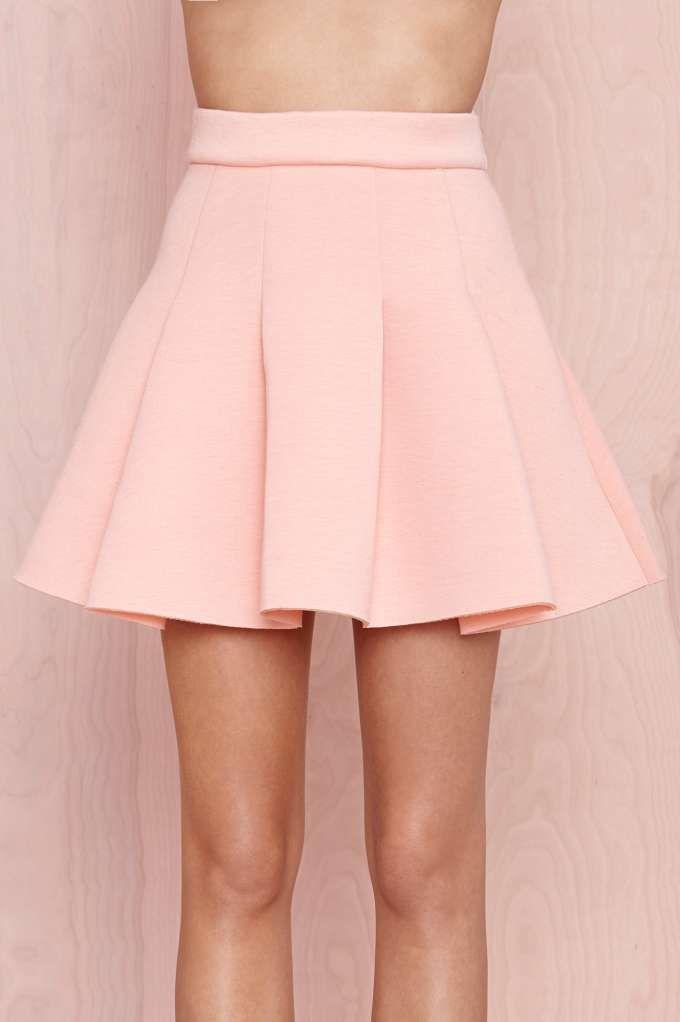 8147c6b2b Pink skater skirt | Falda con tablones en 2019 | Vestidos, Ropa y ...
