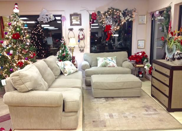 Alan White Super Plush Sofa 759 And Chair And A Half With Ottoman