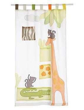 rideau thème safari de chez verbaudet | Déco Chambre BB | Pinterest ...