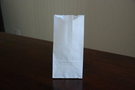 Mini Kraft White Paper Bags Set Of 25 By Sweetideasbyjanet 3 00