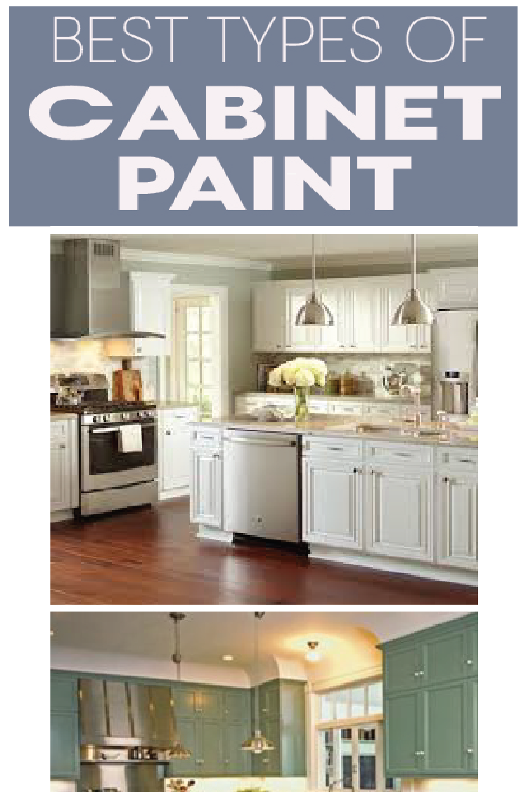 The 5 Best Types Of Paint For Kitchen Cabinets Inside Kitchen