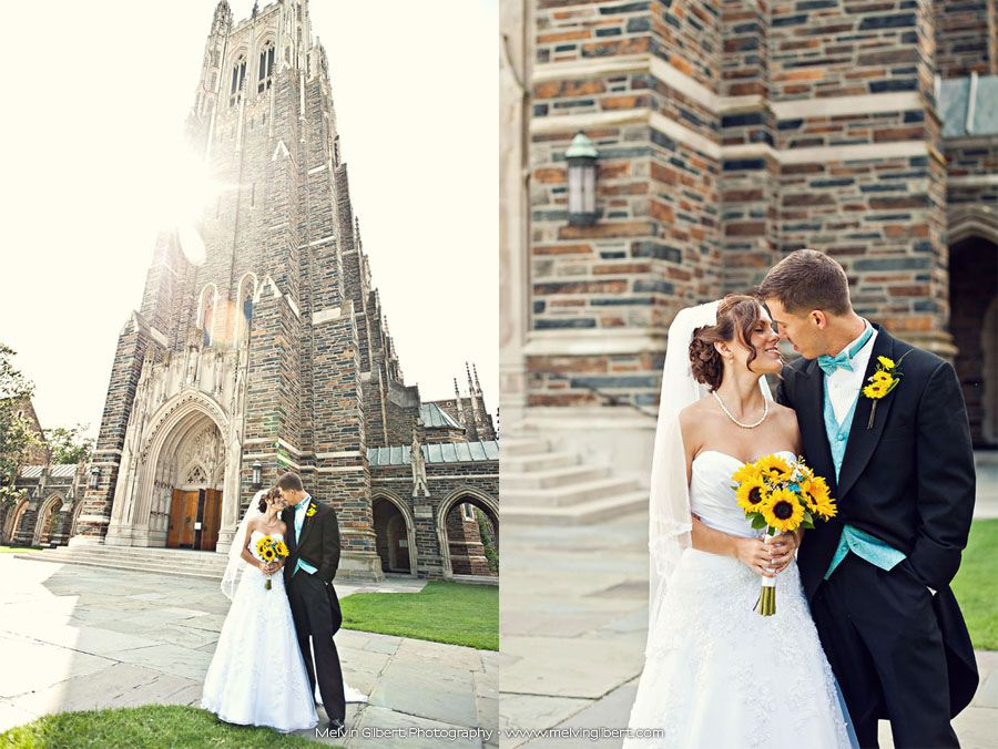 Duke University Chapel Wedding Photography