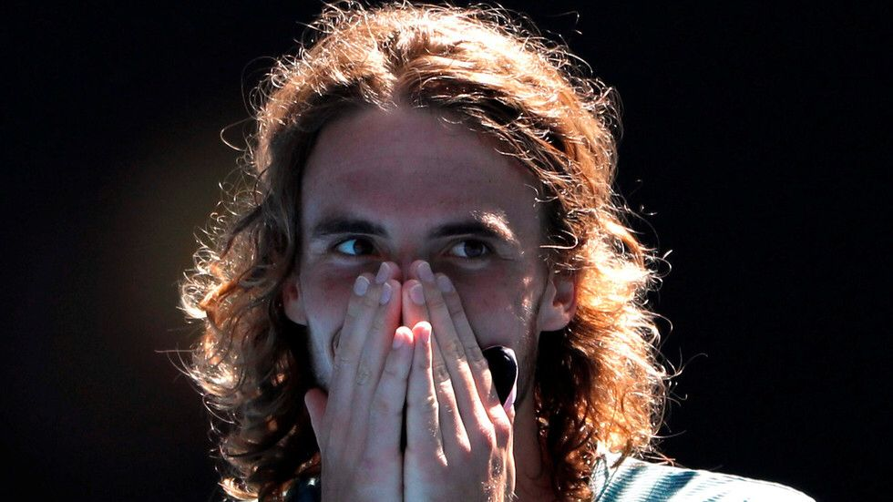 It S A Dream Come True Meet Stefanos Tsitsipas The Greek God Taking The Tennis World By Storm Tennis World Tennis Greek Gods