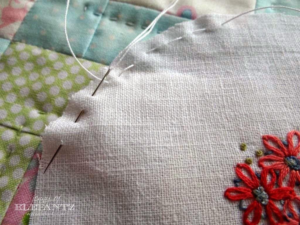 Como enquadrar pequenas stitcheries ...