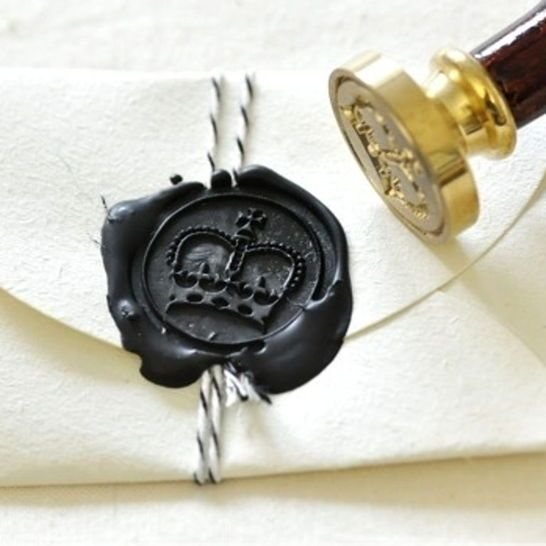 Royal Crown Wax Seal Stamp Kit