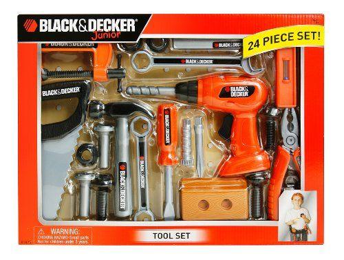 Black And Decker Junior 24 Piece Tool Set Window Box Black Amp Decker Http Www Amazon Com Dp