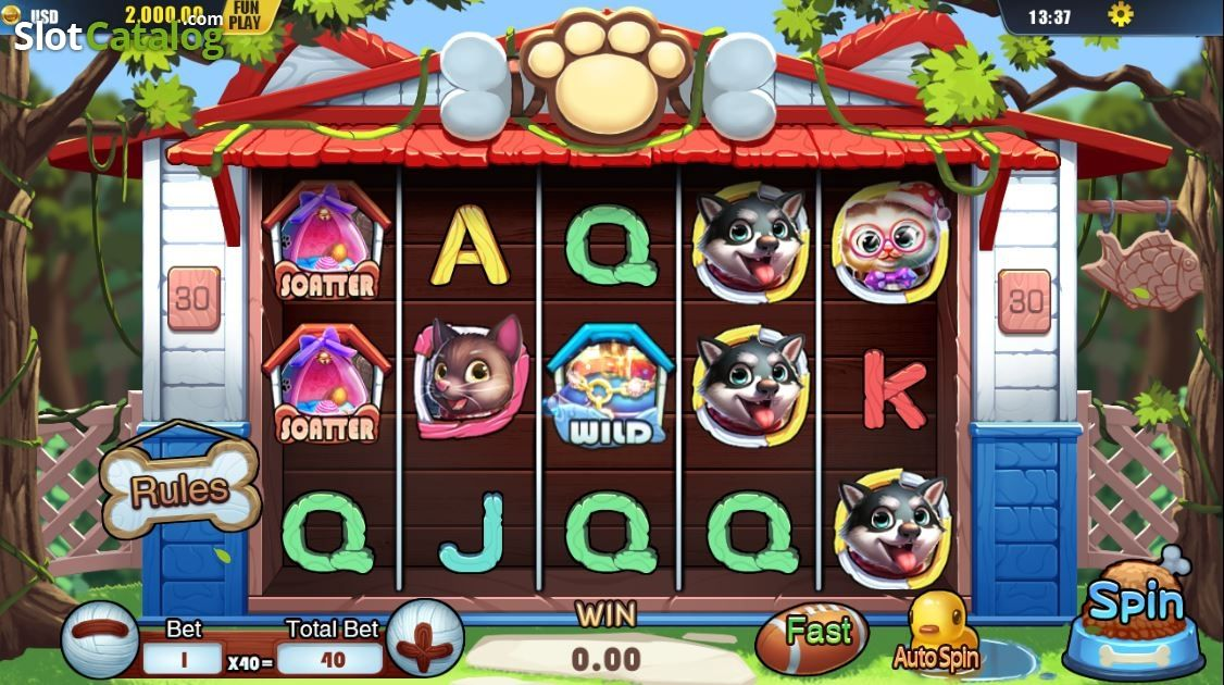 Pets Slot Machine